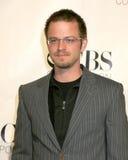 胭脂红Giovianazzo CBS TV三辛胺党风洞帕萨迪纳,加州2006年1月18日 免版税库存图片