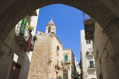 Giovinazzo church. Apulia. Royalty Free Stock Photo