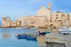 Giovinazzo touristic port. Apulia. Stock Images