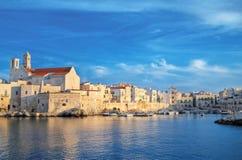 Giovinazzo touristic port. Apulia. Stock Image