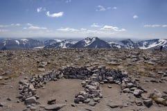 Gipfel Ben-Macdui Süd Stockfoto