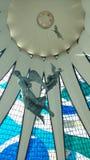 Gipfel BrasÃlia Catedral Stockfotografie