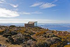 Gipfel der Montierung Wellington lizenzfreie stockfotos