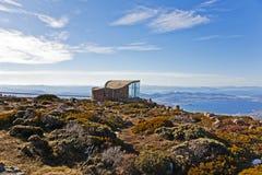 Gipfel der Montierung Wellington Stockfotografie