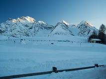 Gipfel der Sesvenna-Gebirgsgruppe Lizenzfreie Stockfotos