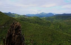 Gipfel des Bergs Mamara lizenzfreies stockbild
