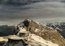 Gipfel des Bergs Pilatus Stockfotografie