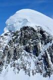 Gipfel des Breithorn Stockbild