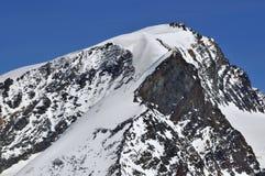 Gipfel des Strahlhorn Lizenzfreies Stockbild