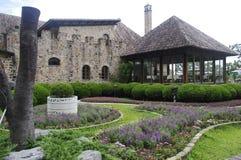 Gipfel-Erholungsort-Taichungs-Lavendel-Garten Lizenzfreies Stockfoto
