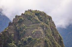 Gipfel Machu Picchu Lizenzfreies Stockbild