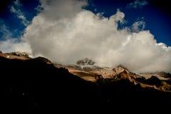 Gipfel von Aconcagua Lizenzfreies Stockfoto