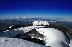Gipfel von Cotopaxi Lizenzfreie Stockbilder