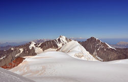 Gipfelaufstieg Stockbilder
