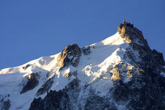 Gipfelstation - alpine Ansicht Lizenzfreies Stockbild