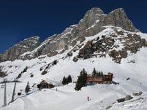 Gipfelstation Grotzenbuehl Stockfoto