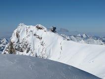 Gipfelstation Sex-Rouge Lizenzfreies Stockbild