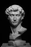 Gipskopf von Michelangelos David Lizenzfreie Stockfotos