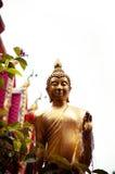 Gipspleister van het standbeeld van Boedha Stock Afbeelding