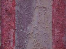 Gipspleistertextuur in Twee Kleuren Stock Foto
