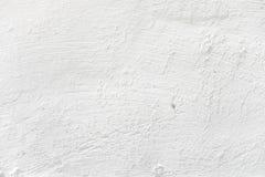 gipsujący ścienny biel Fotografia Royalty Free