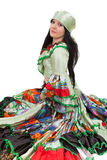 Gipsy dancer Royalty Free Stock Photos
