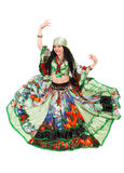 Gipsy dancer Stock Photo