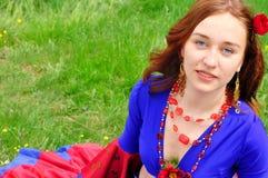 Gipsy girl Royalty Free Stock Image