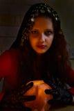 Gipsy girl. Royalty Free Stock Image