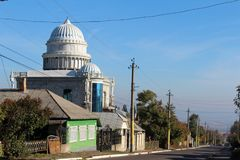 Gipsy house, street view Royalty Free Stock Images