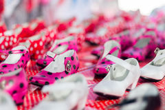 Gipsy Shoes Stock Photography