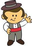 Gipsy Spanish boy Feria Seville Stock Image