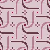 Girândola geométrico simples do teste padrão 7 Foto de Stock Royalty Free