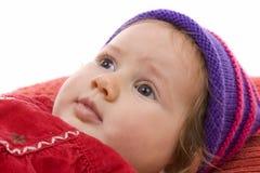 Gir bonito do bebê Fotografia de Stock