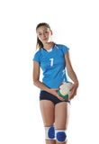 Gir playing volleyball Stock Photos