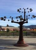 Girador do vento de Napa imagens de stock