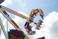 Girador no funfair Fotografia de Stock