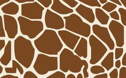 Giraf naadloos patroon stock illustratie