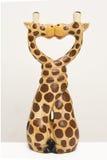 Giraf twee Stock Foto's