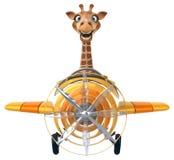 Girafa do divertimento Imagens de Stock Royalty Free
