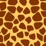 Girafa do teste padrão Imagem de Stock Royalty Free