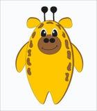 Girafa estranho engraçado Imagem de Stock Royalty Free