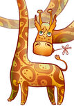 Girafa longnecked engraçado Imagem de Stock Royalty Free