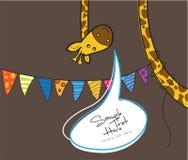 Girafe Illustration Stock