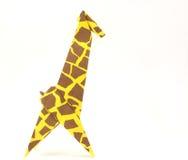 Girafe d'origami Images libres de droits
