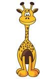 Girafe mignonne Photo stock