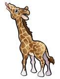 Girafe Safari Animals Cartoon Character Image stock
