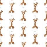 2018 01 giraff för kort 26_craft stock illustrationer