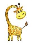 Giraffa allegra Illustrazione di Stock