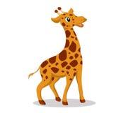 Giraffa così sveglia Fotografia Stock